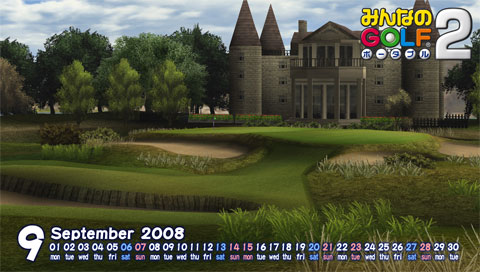 Royal & Links Country Club Shihiko Edit for PSP.